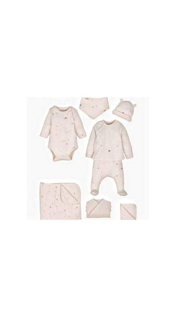 İdil baby organik pamuk set 13983